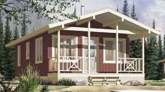 China Long Life Prefab Bungalow Homes , Affordable Prefabricated Homes For Living