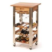 Cheap Kitchen Trolley Series wine serving cart with wheels/elegant designed serving cart for sale