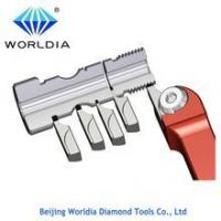 Cheap Diamond Cutting Tool PCD Grooving Insert for sale