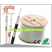 Cheap 75ohm RG6 Coaxial Cable CCS/60% Coverage 1000FT for sale