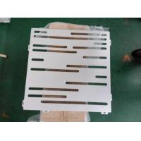 Cheap linear pattern perforated panel for sale