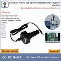 Cheap MVV3000CL digital microscope eyepiece camera equipped with high resolving power relay lens for sale