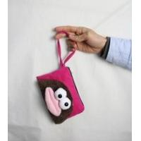 Cheap Coin purse/wallet factory price big mouth chinese silk coin purse for sale