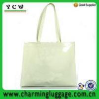 PVC shopping bag silicone shoulder bag for woman