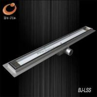 Cheap F Series stainless steel linear floor waste BJ-LSF- TG01 for sale
