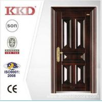 2014 New Design Security Steel Door KKD-106 With New Pait Main Door Made In China