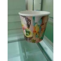 Cheap paper flower pot Take Away Disposable Flower Planting Paper Cups for sale