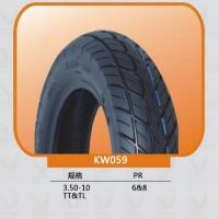 Scooter tire Balanced performance and durability characteristics