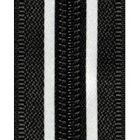 NYLON ZIPPER WITH TWO REFLECTIVE TAPE