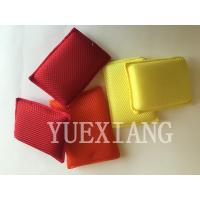 China Microfiber Cleaning cloth Cleaning Sponge mesh scrubber sponge on sale