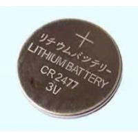China CR Lithium Cell 3.0v CR2477 Button Cell on sale