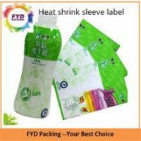 Cheap Factory Price Printed Shrink Bands With T-cut Tear Strips for sale