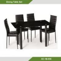 Cheap Luxury Galss Dining Room Table And Chair Set Of Unihomes