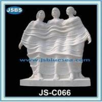 Cheap famous white three graces marble statue for sale