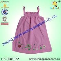 Cheap new arrival cheap sleeveless wholesale baby dress modern for sale