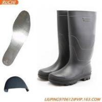 Cheap pvc no lace safety boots for sale