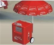 China 140 L cooler box with wheel on sale