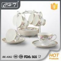 wholesale elegant fine porcelain coffee set for restaurants and bars