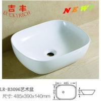 Cheap LR-B3096 Sanitary ware new design single bowl kitchen sink art basin for sale
