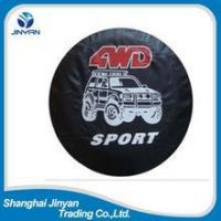 Cheap PU leather car external accessories wheel cover tire cover for sale