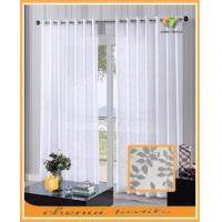 Cheap High quality woven curtain voile fabric for French market small order quantity for sale