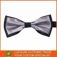 Cheap Best Selling Shiny Satin Man Bow Tie for sale