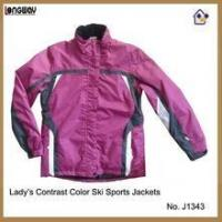 China Winter Jackets for Womens Womens Purple and White Winter Jackets on sale