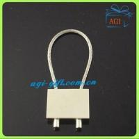 Cheap wire rope metal keyring keychain for sale