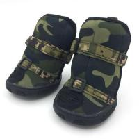 Cheap Dog Shoes & Boots Camo Neoprene Dog Boots for sale