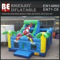 multiplay bouncer ocean inflatable bouncer slide