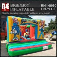 kids mini inflatable character jumper for sale