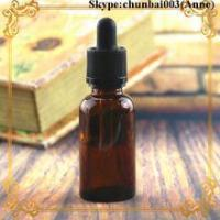 Cheap 50ml glass dropper bottle amber e-juice bottle child safety cap trade assurance for sale