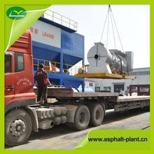 China Mobile Asphalt Drum Mix Plant DHB60
