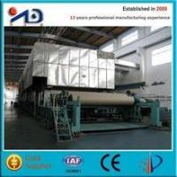 Cheap Paper machine Corrugated paper production line (recycled waste paper) for sale