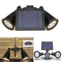 Cheap Hot Products Hot Sales Double solar LED spot light ,AUTO night light for outdoor for sale