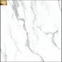 Volakas full polished glazed porcelain tile 600x600
