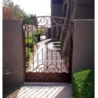 Cheap Wrought iron galvanized gate-G-13 wholesale