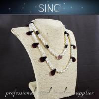Cheap blue pearl necklaces pearl strand black pearl shoes for sale