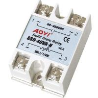 Cheap Solid State Relay Word-class solid state relay 240V SSR-40VA-H for sale