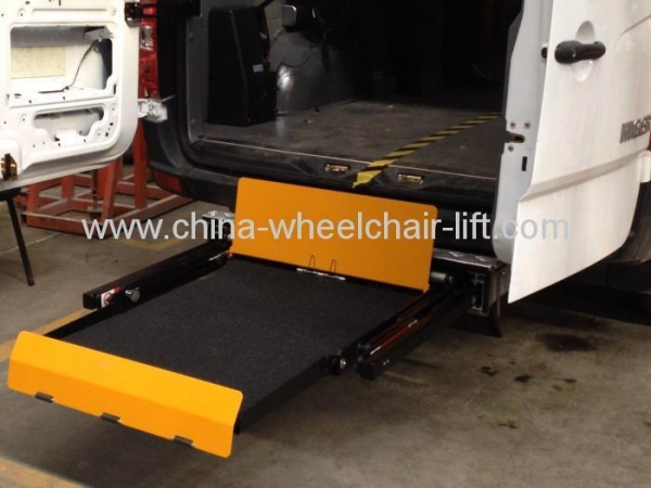 Hydraulic Wheelchair Lifts For Vans : Wheelchair lift wl uvl f for van with