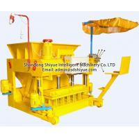 Buy cheap QMY6-25 mobile cement egg laying block machine from wholesalers