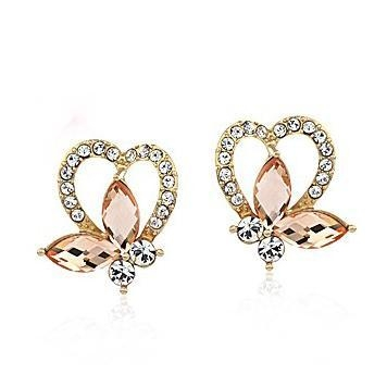 China Jewelry Styles Plated 14K Earrings Jewelry Manufacturer Item: E0084