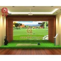 Cheap 3D Indoor Golf Simulator Game Machine Professional for sale