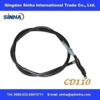 Cheap chrome plated CD110 motorcycle clutch cable for sale