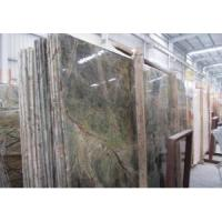 Cheap Top Quality Natural Rain Forest Green Marble Slab for sale