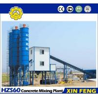 Cheap HZS60 concrete mixing plant for sale