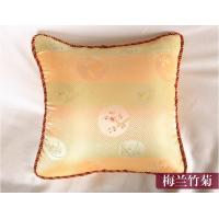 China Silk pillow quilt cushion sofa backrest cushion for automobile at the waist on sale