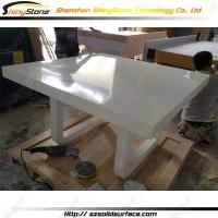 Cheap Restaurant Table Corian bar High-end customized solid surface dining table- STTB-660 wholesale