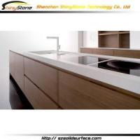 Cheap New Kitchen Cabinet Corian bar Stylish modern kitchen cabinet- STKC-162 wholesale