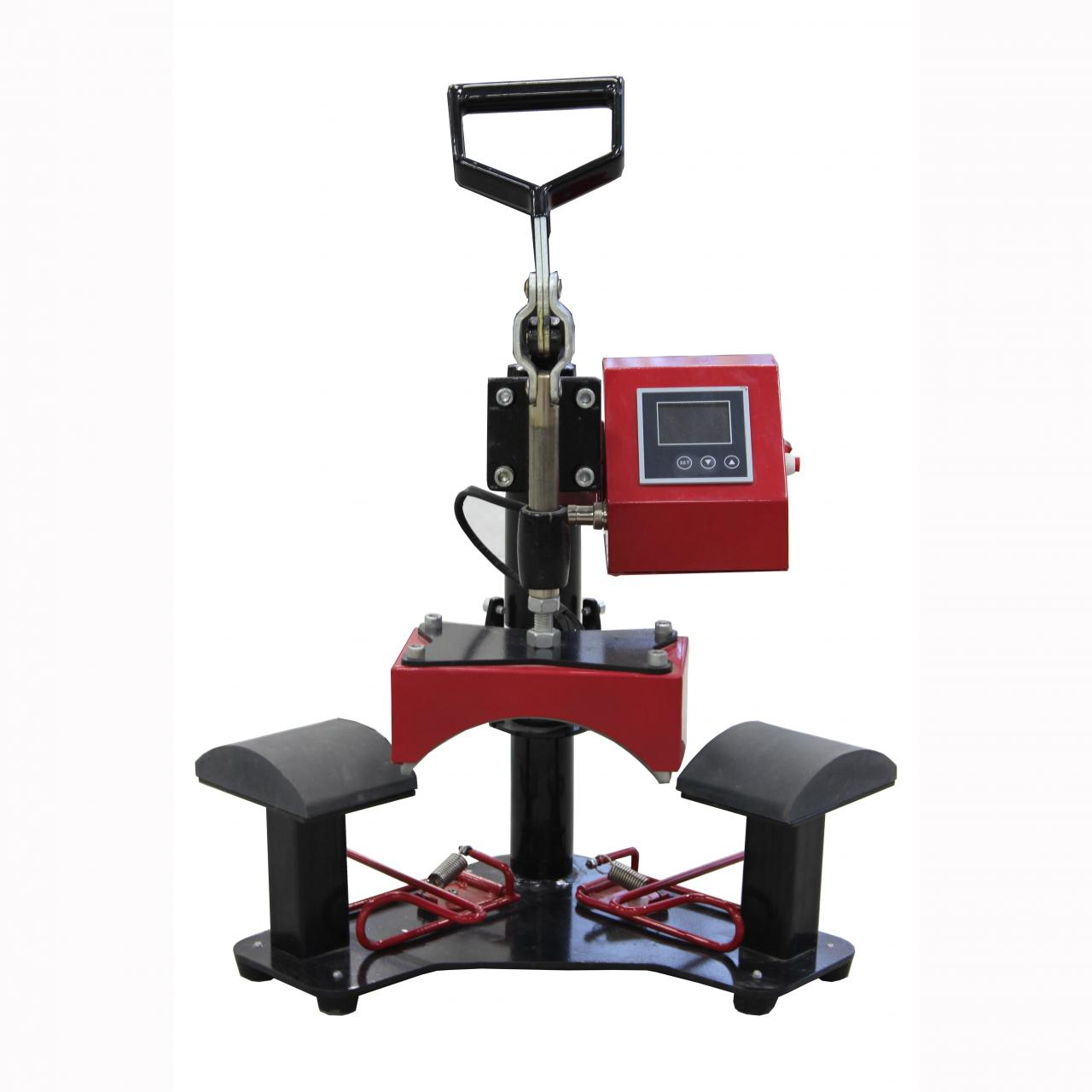 Buy cheap double location cap press machine from wholesalers
